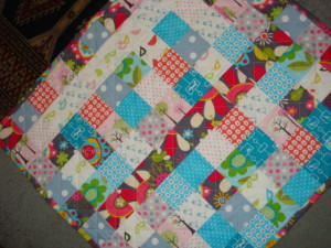 Baby Quilt by SalsySafrano Quilts.