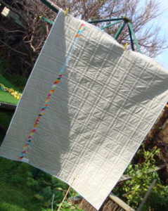 Fallow Groups Quilt in the Simply Solids Bee: by SalsySafrano Quilts.