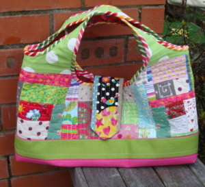 My Quilt As You Go Patchwork Tote.