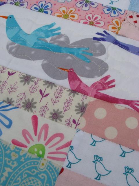 Summer Garden Baby Quilt